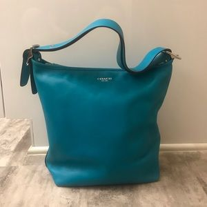Legacy Coach Hobo Purse in Teal (19889)